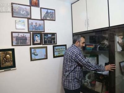تصویر از شهیدی که نحوه شهادتش را نقاشی کرد! +تصاویر