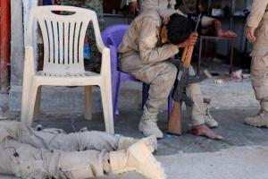 تصویر از تصاویر/ درد و فریاد در بیمارستان مجروحان نبرد رقه