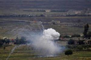 تصویر از شهادت و زخمی شدن ۲ عضو حزبالله در حمله اسرائیل به قنیطره سوریه