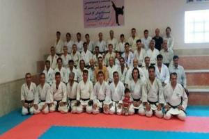تصویر از تمرین مشترک پیشکسوتان کاراته گلستان به میزبانی مینودشت برگزار شد + تصاویر