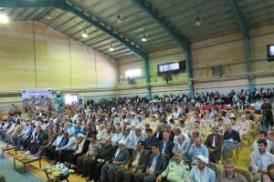 تصویر از یادواره شهدای  شهرستان بانه برگزار شد