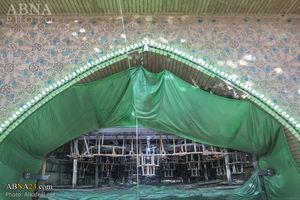 تصویر از عکس/کاشی کاری در حرم حضرت عباس(ع)