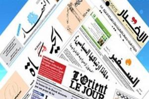 تصویر از سرخط روزنامه های لبنان-چهارشنبه ۴ مرداد