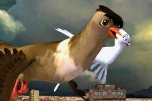 تصویر از پرواز کودکان با کبوتران حرم در شبکه نهال