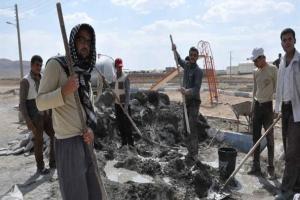 تصویر از جهادگران تیران همگام با جهادگر بسیجی شهید حُججی وارد عرصه عمل شدند/ تصاویر