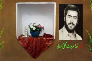 تصویر از جوان ترین فرمانده شهید دلفانی/برای دفاع از فرزند زهرا(س) راهی جبهه شدم
