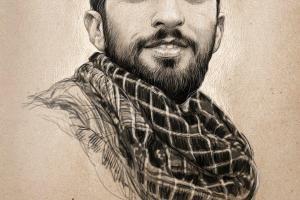 تصویر از پاسداشت شهید حججی در شب شعر و هنر سر به راه