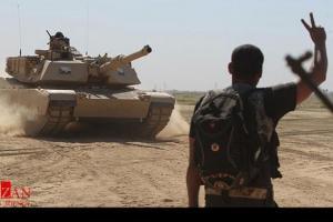 تصویر از پیشروی ارتش سوریه به سمت پایگاههای داعش