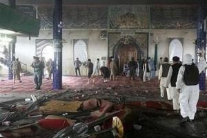 تصویر از افزایش آمار قربانیان حمله داعش به مسجد امام زمان(عج) در کابل به ۴۰ شهید و ۹۰ زخمی