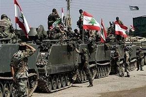 تصویر از پرچم لبنان در بلندیهای رأس بعلبک و القاع به اهتزاز درآمد