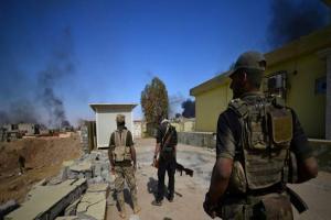 تصویر از نزدیک شدن نیروهای عراقی به مرکز شهر تلّعفر+ تصاویر و نقشه