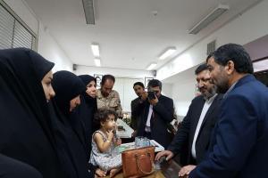 تصویر از شهید حججی همچون مائده آسمانی بر سفره ایرانیان نازل شد/ سران فتنه ضربه مهلکی به آبروی ملی ایران وارد کردند