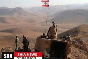 تصویر از آغاز مرحله سوم عملیات ارتش لبنان
