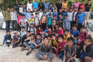 تصویر از گزارش تصویری اردوی صالحین پایگاه بسیج روستای فرود