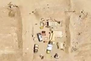 تصویر از فیلم/ استفاده داعش از پهپادهای بمب افکن در تلعفر