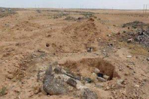 """تصویر از کشف گورهای جمعی در """"میرزااولنگ"""" افغانستان"""