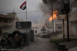تصویر از سیطره ارتش عراق بر ۹۵ درصد تلعفر