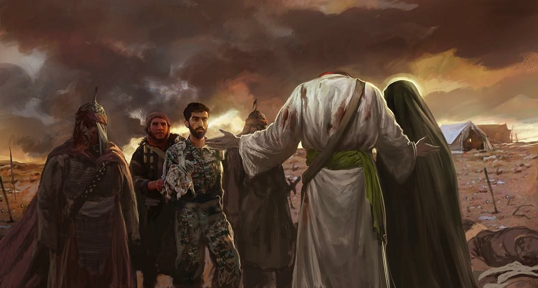تصویر از پوستر شهید محسن حججی با کیفیت بالا