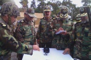تصویر از دفتر گزینش و استعدادیابی نیروی زمینی در گرگان افتتاح شد