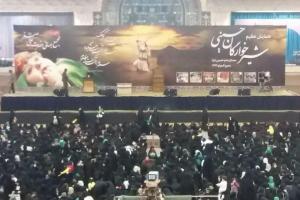 تصویر از مراسم شیرخوارگان حسینی در مصلای تهران برگزار شد + تصاویر