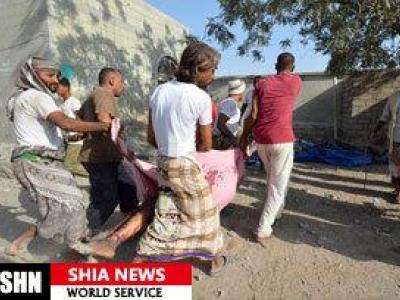 تصویر از حملات ائتلاف عربی عامل کشتار دو سوم قربانیان جنگ در یمن است
