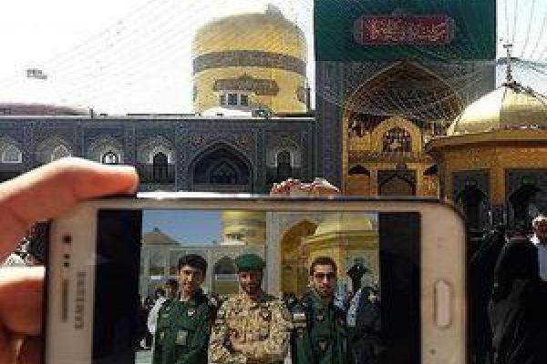 تصویر از ۳ شهید در یک قاب