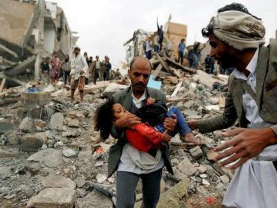 تصویر از سنگاندازیهای ائتلاف سعودی وضعیت انسانی یمن را وخیمتر کرده است