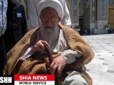 تصویر از آیت الله معصومی شاهرودی از علمای مشهد درگذشت