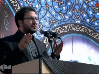 تصویر از اجرای «حبالحسین» توسط حامد شاکرنژاد در تشییع شهید حججی + دانلود