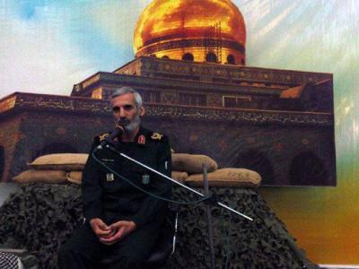 تصویر از کسی جرات تجاوز به مرزهای ایران مقتدر را ندارد