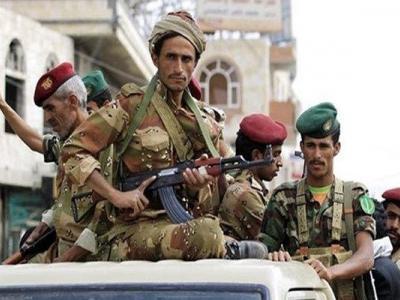 تصویر از حملات گسترده نیروهای یمنی به مواضع مزدوران سعودی در «نهم» صنعاء