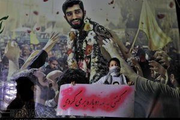 تصویر از عکس/ نجفآباد در انتظار بازگشت شهید حججی