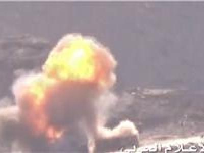 تصویر از ۵۷ بار حمله هوایی عربستان به مناطق یمن