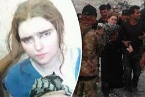 تصویر از احتمال اعدام عروس آلمانی داعش در عراق