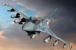 تصویر از آمریکا مواضع داعش در لیبی را بمباران کرد
