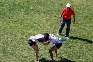تصویر از معرفی قهرمانان مسابقات کشتی با چوخه مانه و سملقان
