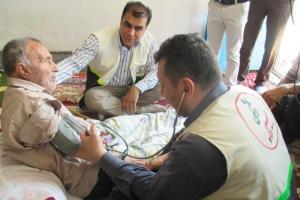 تصویر از اکیپهای پزشکی به مناطق محروم شمال سیستان و بلوچستان اعزام شدند