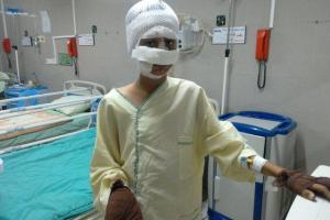تصویر از ترقهبازی نوجوان قزوینی را راهی بیمارستان کرد
