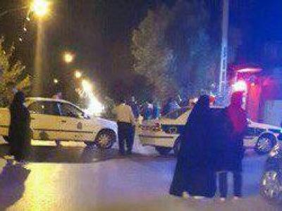 تصویر از خودروی مظنون به بمب گذاری در مجاورت منزل پدری شهید حججی +عکس
