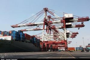 تصویر از ورود دومین محموله تجهیزات بندری به بزرگترین بندر تجاری ایران
