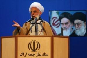 تصویر از ملت ایران با الگوگیری از نهضت عاشورا در مقابل استکبار می ایستد