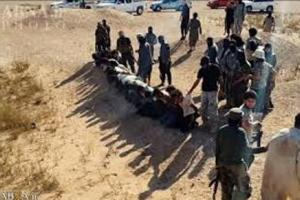 تصویر از داعش ۱۲ غیرنظامی را در الحویجه عراق اعدام کرد