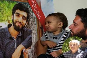 تصویر از نامه ی جانباز فراشبندی به تنها یادگار شهیدحججی