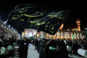 شاهچراغ (ع) سوگوار شهادت سید الساجدین