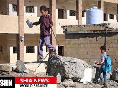 تصویر از دخالت واشنگتن در جنگ یمن غیرقانونی است