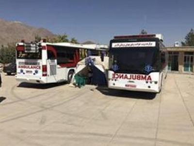 تصویر از ارائه خدمات جهادی در بیمارستان صحرایی شهدای مدافع حرم