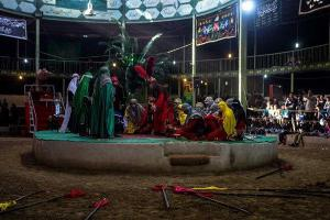 تصویر از مریانج؛ قطب تعزیه غرب کشور/بازآفرینی حماسه کربلا در یک میدان