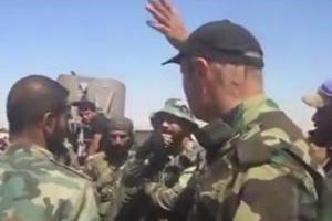 تصویر از نبرد سنگین ارتش سوریه با تروریستهای داعش در المیادین + فیلم