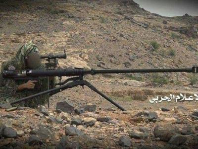 تصویر از ۴۶ مزدور سعودی هدف تک تیراندازان ارتش یمن قرار گرفتند