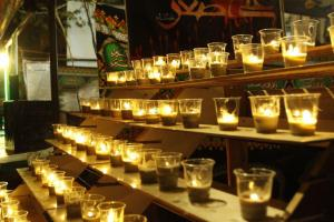 تصویر از شهر مقدس قم در شام غریبان حسینی گریست